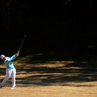 15番セカンドショット。ここはみごとバーディ 2019年 ヨコハマタイヤゴルフトーナメント PRGRレディスカップ 最終日 鈴木愛
