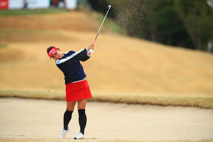 昨日のいい感じが今日はなかった 2019年 ヨコハマタイヤゴルフトーナメント PRGRレディスカップ 最終日 有村智恵