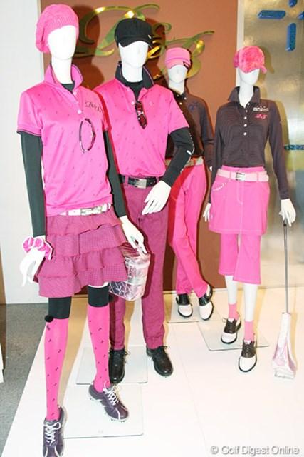 2010年 ホットニュース 宅島美香 宅島美香もお気に入りというピンクを基調としたデザインが豊富だ