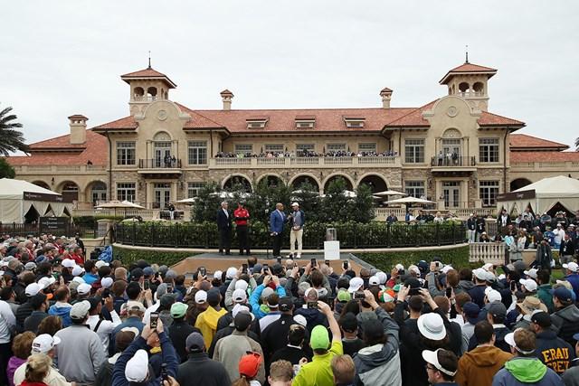 第5のメジャーとされる大会で優勝したマキロイ。好調を維持する(Gregory Shamus/Getty Images)