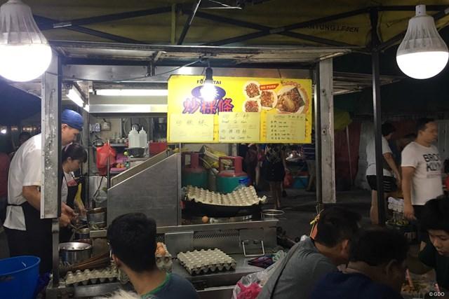 マレーシアの屋台。観光地ではないところに足を伸ばすとローカルフードが