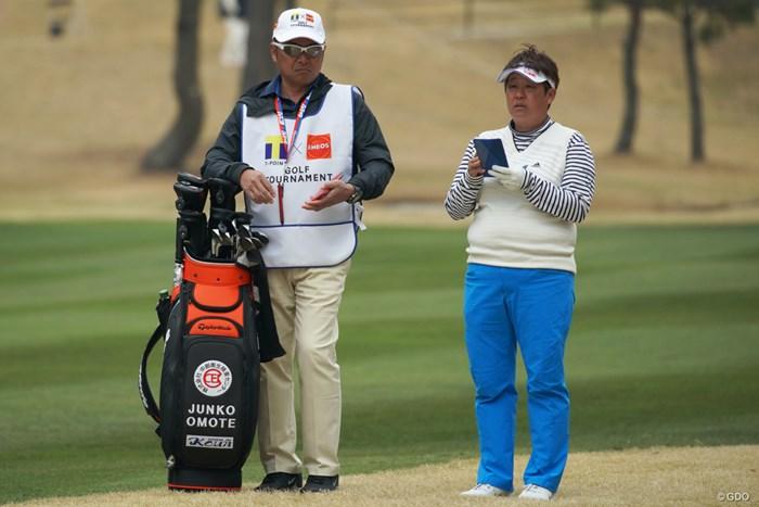 表純子は同学年の引退にしみじみ 2019年 Tポイント×ENEOSゴルフトーナメント 初日 表純子