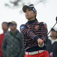 イチローに同じアスリートとして大きな影響を受けた上田桃子 2019年 Tポイント×ENEOSゴルフトーナメント 初日 上田桃子