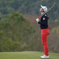 悔やまれる15番ダブルボギー。 2019年 Tポイント×ENEOSゴルフトーナメント 最終日 松田鈴英