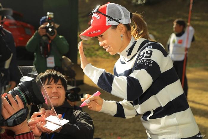 テレビの前の皆さん、お待たせしました! 2019年 Tポイント×ENEOSゴルフトーナメント 最終日 上田桃子