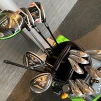 優勝を決めた上田桃子のキャディバッグ 2019年 Tポイント×ENEOSゴルフトーナメント 最終日 上田桃子