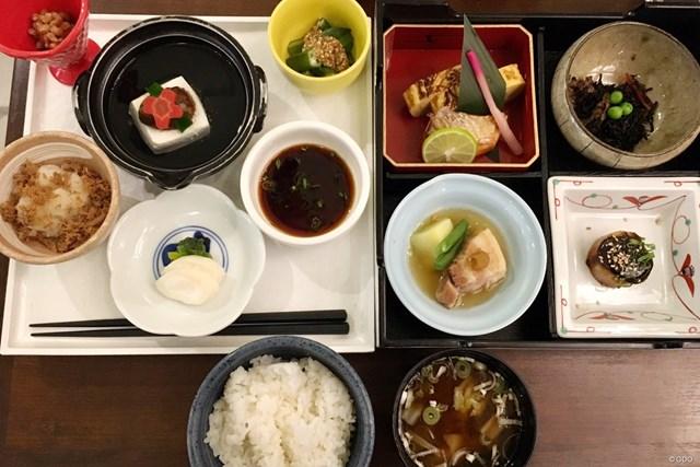 2019年 ヒーローインディアンオープン 事前 インドの朝食 インドの日系ホテルの朝食。ほんとに日本にいるみたい