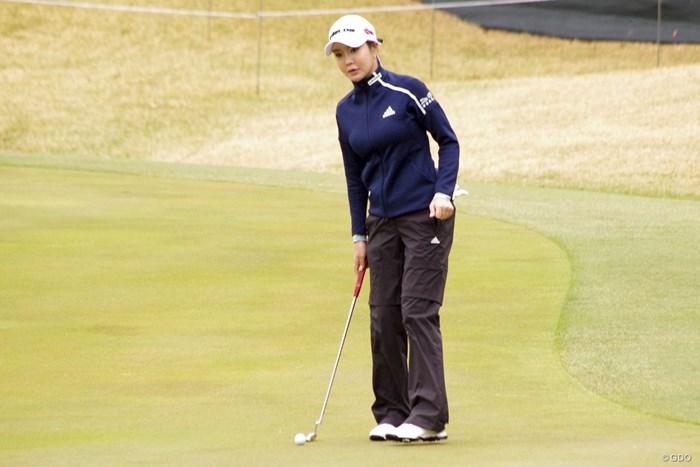 プロアマ戦に出場したアン・シネ 2019年 アクサレディスゴルフトーナメント in MIYAZAKI 事前 アン・シネ