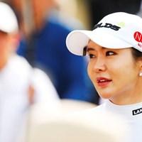 あいかわらずの群衆 2019年 アクサレディスゴルフトーナメント in MIYAZAKI 初日 アン・シネ