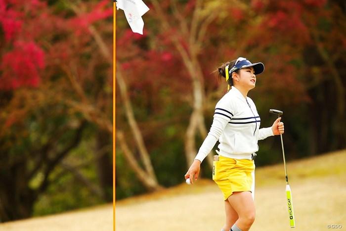 新パターで2位発進を切った河本結 2019年 アクサレディスゴルフトーナメント in MIYAZAKI 初日 河本結