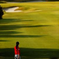 赤と緑の相性 2019年 アクサレディスゴルフトーナメント in MIYAZAKI 2日目 ユン・チェヨン
