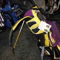 腰に巻くことができ肩の負担を軽減できるセルフキャディバッグ 「PGAショー」で見つけたおもしろゴルフグッズ NO.10