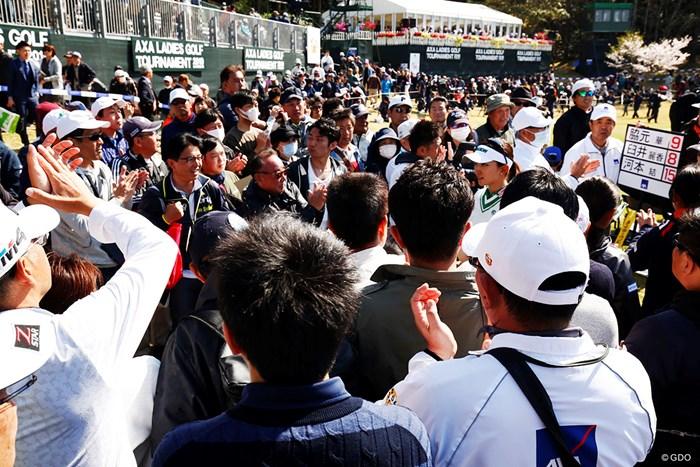 地元の愛 2019年 アクサレディスゴルフトーナメント in MIYAZAKI 最終日 脇元華
