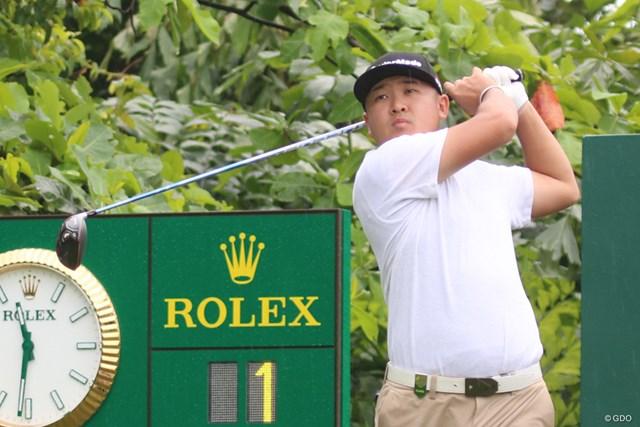 PGAツアーチャイナ開幕戦を制した佐藤大平※撮影は「SMBCシンガポールオープン」