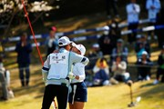 2019年 アクサレディスゴルフトーナメント in MIYAZAKI 最終日 河本結 河本力