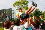 2005年 世界殿堂入り決定の岡本綾子が喜びの会見