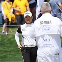 野村は1打届かず予選落ち。「流れに乗るのが難しかった」 2019年 ANAインスピレーション 2日目 野村敏京