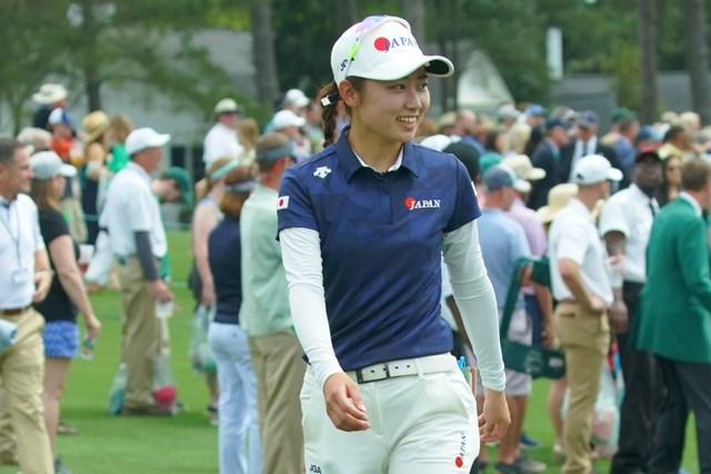 2019年 オーガスタナショナル女子アマチュア 安田祐香 安田祐香は世界のトップ女子アマ72人が出場した大会を3位で終えた