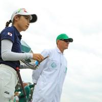 スタート前、やや緊張感が漂う。 2019年 オーガスタナショナル女子アマチュア 最終日 安田祐香