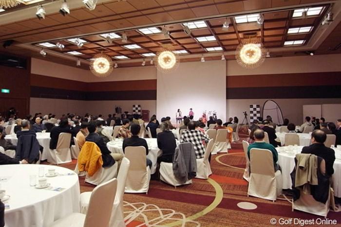 ホテルの会場には120名のファンが集まり日下部智子との2時間の交流を楽しんだ 2010年 ホットニュース 日下部智子
