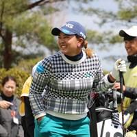 鈴木愛はパターを変更してプロアマ戦をプレーした 2019年 スタジオアリス女子オープン 事前 鈴木愛