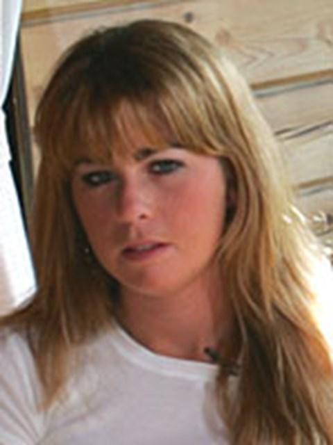 軽井沢プリンスのロッジでインタビューに応えてくれたポーラ・クリーマー