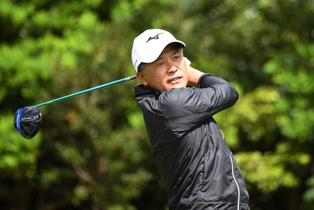 シニアデビュー戦で2位発進を決めた手嶋多一 ※提供:日本プロゴルフ協会