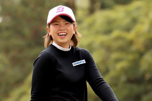 20歳のルーキー・木下彩が首位発進を決めた ※提供:日本女子プロゴルフ協会