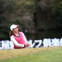 場所は花屋敷ゴルフクラブ18番 2019年 スタジオアリス女子オープン 初日 吉本ひかる