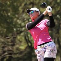 首位で決勝ラウンドを迎えるヌック・スカパン※提供:日本女子プロゴルフ協会 2019年 Hanasaka Ladies Yanmar Golf Tournament 2日目 ヌック・スカパン