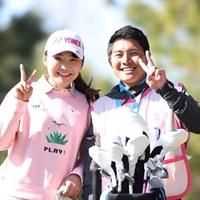 仲良く撮影、いいね~ 2019年 スタジオアリス女子オープン 2日目 石井理緒
