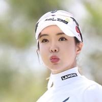 9カ月ぶりに予選通過を果たしたアン・シネ 2019年 スタジオアリス女子オープン 2日目 アン・シネ