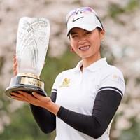 初優勝を飾ったヌック・スカパン(Toru Hanai/Getty Images) 2019年 Hanasaka Ladies Yanmar Golf Tournament 最終日 ヌック・スカパン