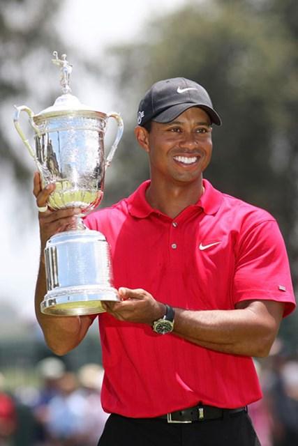 プレーオフを制し全米オープン優勝したウッズ(Ross Kinnaird/Getty Images)