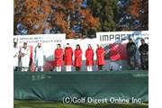 2005年 HITACHI 3TOURS CHAMPIONSHIP 2005 IMPACT! 初日