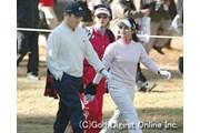 2005年 HITACHI 3TOURS CHAMPIONSHIP 2005 IMPACT! 初日 横田真一 宮里藍