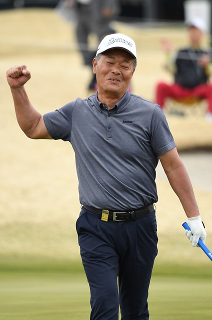 伊藤正己が「63」のエージシュートを記録した(写真提供:日本プロゴルフ協会)