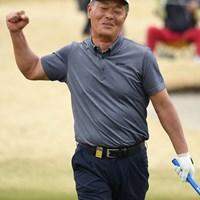伊藤正己が「63」のエージシュートを記録した(写真提供:日本プロゴルフ協会) 2019年 ノジマチャンピオンカップ 箱根シニアプロゴルフトーナメント 初日 伊藤正己