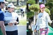 2019年 KKT杯バンテリンレディスオープン 事前 有村智恵と上田桃子