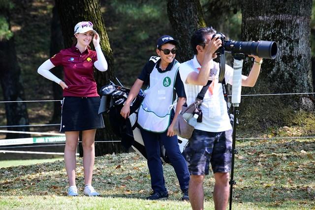 被写体とカメラマン