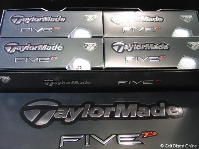 ギアニュース 取材情報 テーラーメイド2010新製品_31 FIVE TPボール パッケージは縦長