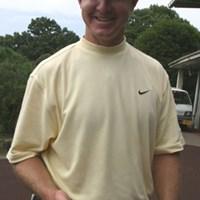 「ピーク時には、まるでキャッチャーミットみたいに手が腫れたんだ」と、ケガしたときの様子を語るスコット・レイコック。日本ツアーでは1勝の経験がある。 2005年 プレーヤーズラウンジ スコット・レイコック