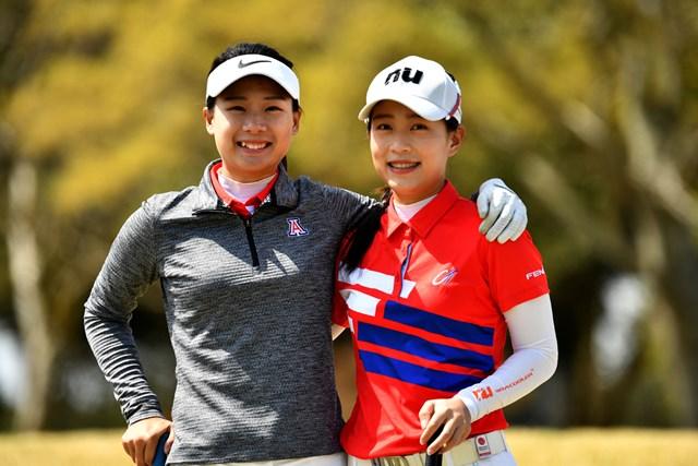 ユ・サンホウ(左)とユ・チャンホウ姉妹(提供:WAAP)