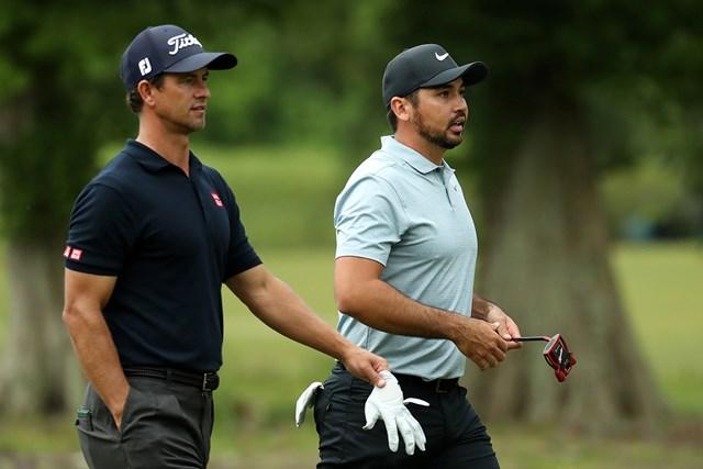 デイ&スコットは2ホールを残して7アンダーとした(Rob Carr/Getty Images)