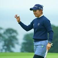今日は安定感あるゴルフでしたね。 2019年 フジサンケイレディスクラシック 初日 成田美寿々
