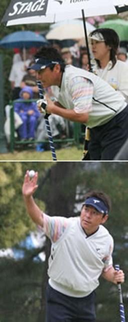 自ら絶好調!と語る尾崎直道。2週間後に行われる「日本プロ」では、1999年以来2度目のタイトルを狙う。