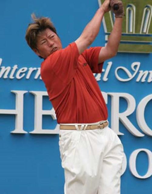 「中日クラウンズ」で12位タイに入った尾崎健夫。今年は「勝負の年」と気合が入っているだけに、久々のツアー優勝に期待したい