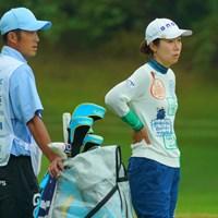 前週のチャンピオンは60位タイと出遅れた。 2019年 フジサンケイレディスクラシック 初日 李知姫