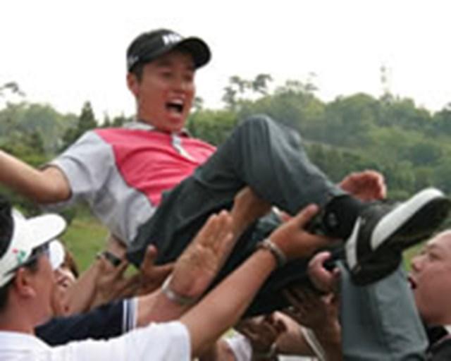 日本ツアー本格参戦からわずか3ヶ月で初勝利を挙げた韓国のI.J.ジャン。またまた強力な外国人選手がツアーに誕生した。
