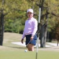 昨年はプレーオフで惜敗した西村優菜は「73」と伸ばせず5位 2019年 アジアパシフィック女子アマチュアゴルフ選手権 最終日 西村優菜